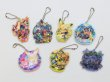 Photo3: Pokemon Center 2019 POKEMON BAND FES Hologram Acrylic Charm Key chain #6 Grass (3)