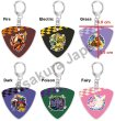Photo3: Pokemon Center 2019 POKEMON BAND FES Pick Shaped Key chain Fire (3)