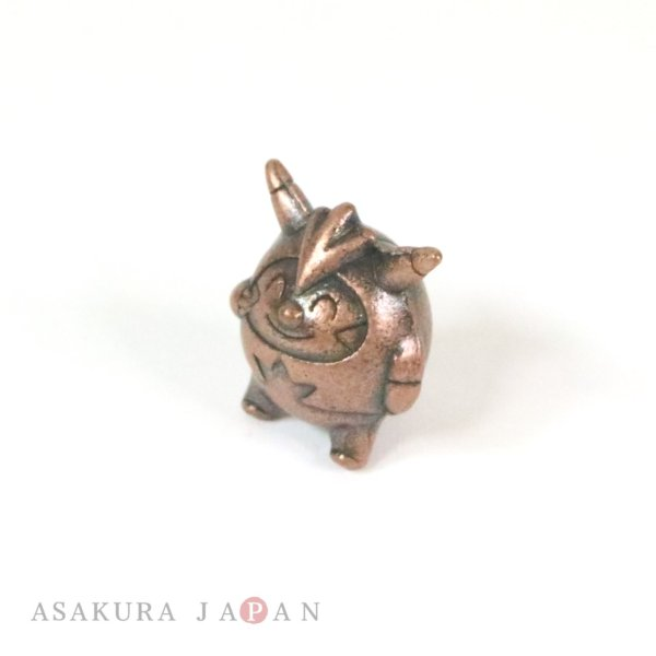 Photo1: Pokemon XY&Z 2016 Metal Collection SP Quilladin Figure (Copper Version) (1)