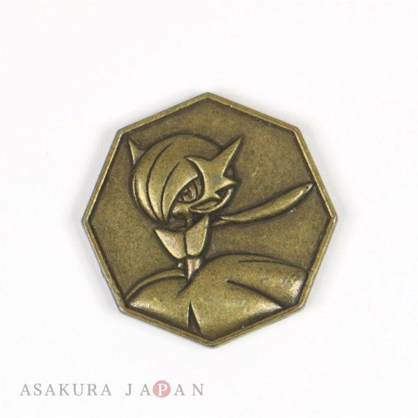 Photo1: Pokemon XY&Z 2016 Metal Collection Mega Gardevoir Coin (Bronze Version) (1)