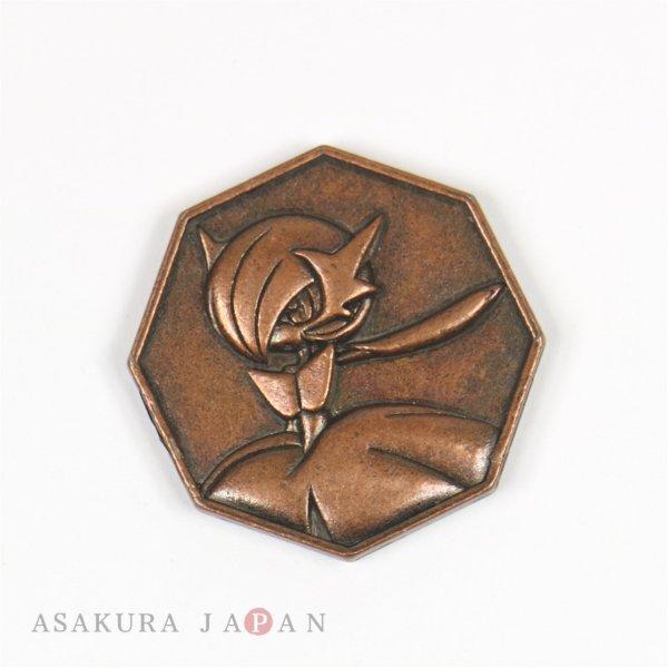 Photo1: Pokemon XY&Z 2016 Metal Collection Mega Gardevoir Coin (Copper Version) (1)