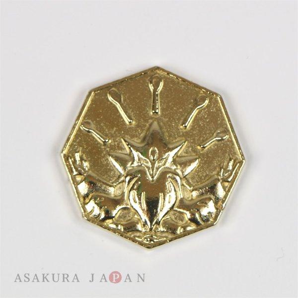 Photo1: Pokemon XY&Z 2016 Metal Collection Mega Alakazam Coin (Gold Version) (1)