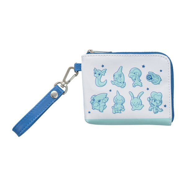 Photo1: Pokemon Center 2019 TAIKI-BANSEI Coin purse with card pass case pouch (1)