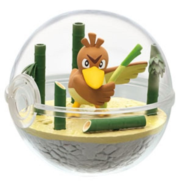 Photo1: Pokemon 2019 Terrarium Collection vol.7 #2 Farfetch'd Mini Figure (1)