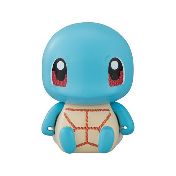 Photo1: Pokemon 2019 BANDAI Colle chara ! vol.1 #2 Squirtle Mini Figure with name pedestal (1)