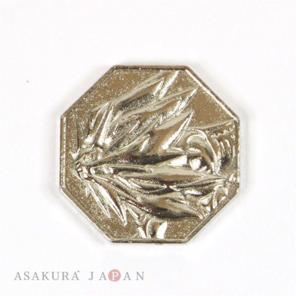 Photo1: Pokemon 2016 Metal Collection Sun & Moon Solgaleo Coin (Silver Version) (1)