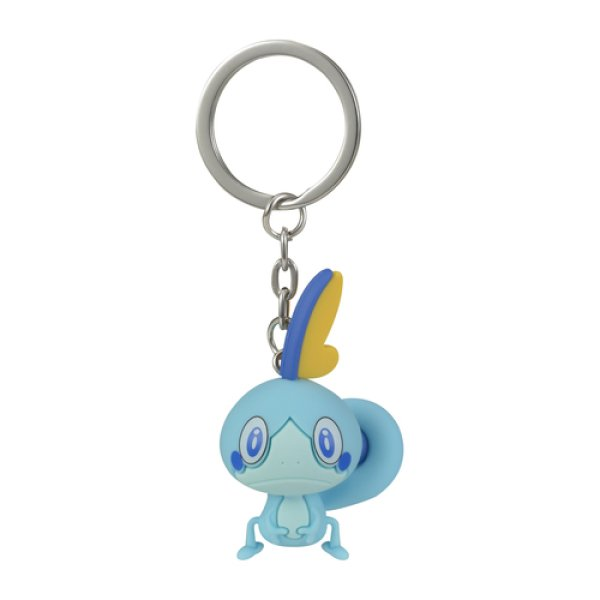 Photo1: Pokemon Center 2019 Figure Mascot Key Chain Sobble (1)