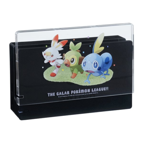 Photo1: Pokemon Center 2019 Nintendo Switch Dock cover THE GALAR POKEMON LEAGUE!! (1)