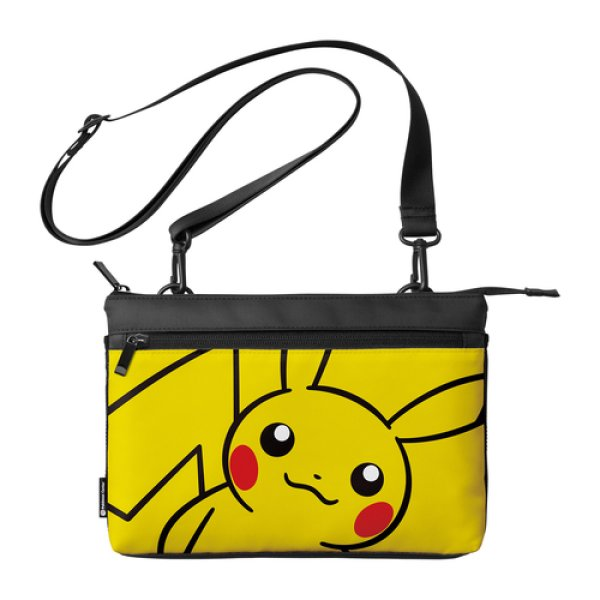 Photo1: Pokemon Center 2019 Nintendo Switch Lite Sacoche Pikachu Pouch Bag (1)