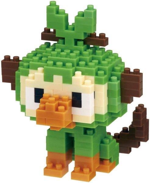 Photo1: Pokemon KAWADA nanoblock NBPM_059 Grookey micro-sized building block (1)