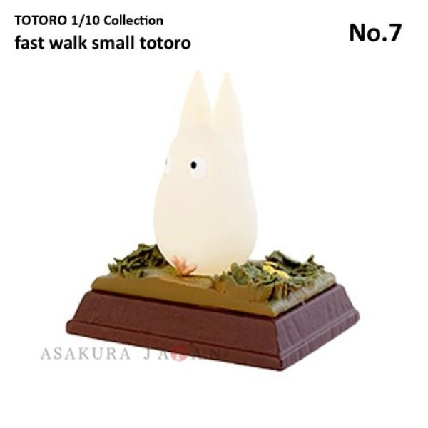 Photo1: Studio Ghibli 1/10 Collection Figure My Neighbor Totoro fast walk small totoro No.7 (1)