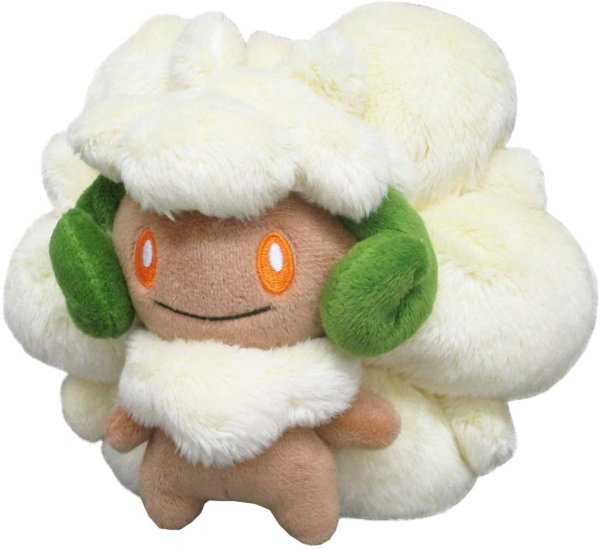 Photo1: Pokemon 2019 ALL STAR COLLECTION Whimsicott Plush Toy SAN-EI (1)