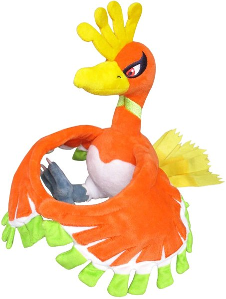 Photo1: Pokemon 2019 ALL STAR COLLECTION Ho-Oh Plush Toy SAN-EI (1)