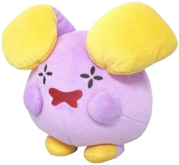 Photo1: Pokemon 2019 ALL STAR COLLECTION Whismur Plush Toy SAN-EI (1)