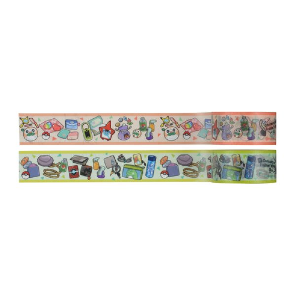 Photo1: Pokemon Center 2019 Contents of Trainer's bag Sticky Paper Masking Tape OR TQ ver. (1)
