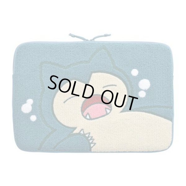 """Photo1: Pokemon Center 2019 Snorlax's yawn Tablet PC case bag cover 13"""" (1)"""
