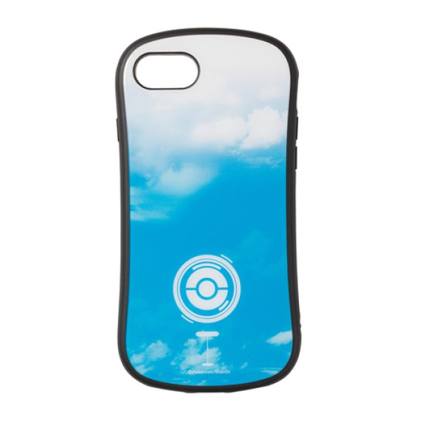 Photo1: Pokemon Center 2019 Pokemon GO campaign Hybrid glass case jacket for iPhone 8/7/6s/6 case PokeStop (1)