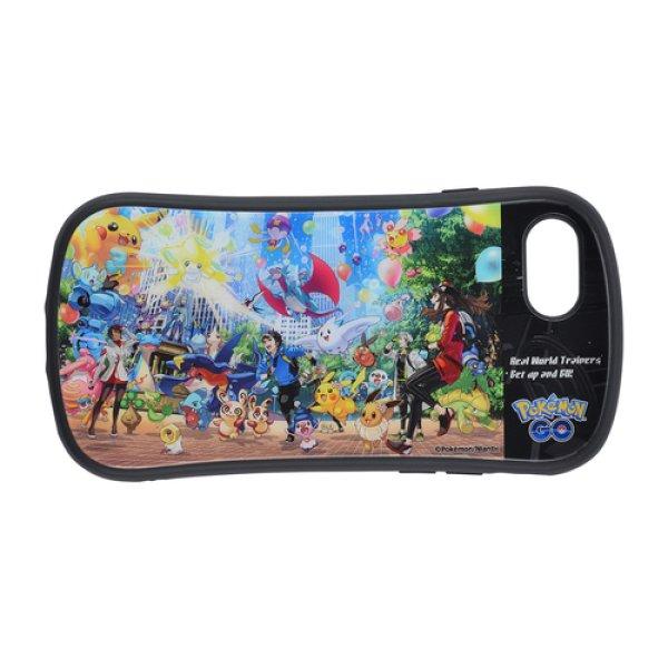 Photo1: Pokemon Center 2019 Pokemon GO campaign Hybrid glass case jacket for iPhone 8/7/6s/6 case 3rd Anniversary (1)