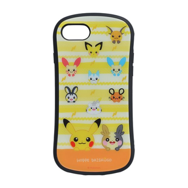 Photo1: Pokemon Center 2020 HOPPE DAISHUGO Hybrid glass case jacket for iPhone 8/7/6s/6 case (1)