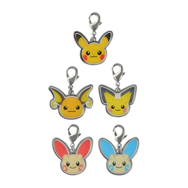 Photo1: Pokemon Center 2020 HOPPE DAISHUGO Metal charm A set (1)