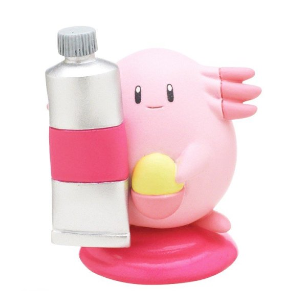 Photo1: Pokemon 2019 Palette color collection Pink ver. Chansey Mini Figure (1)