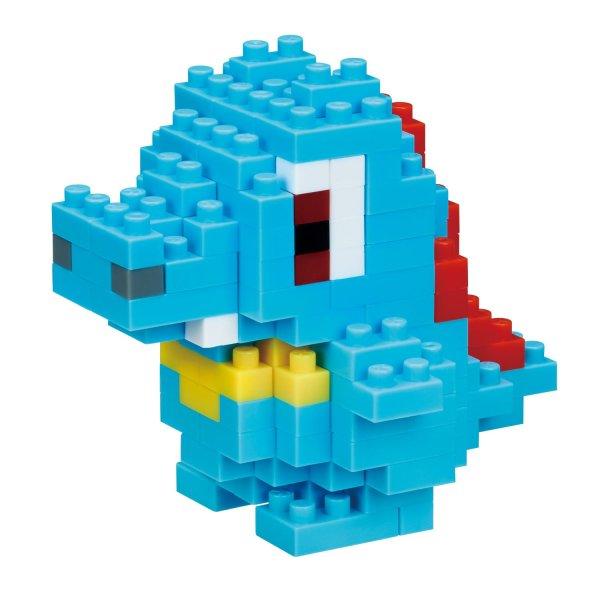 Photo1: Pokemon KAWADA nanoblock NBPM_031 Totodile micro-sized building block (1)