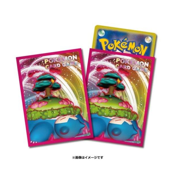 Photo1: Pokemon Card Game Sleeve Snorlax GIGANTAMAX 64 sleeves (1)