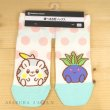 Photo2: Pokemon Center 2020 MOTCHIRI MANMARU Socks for Women 23 - 25 cm Togedemaru & Oddish 1 Pair (2)