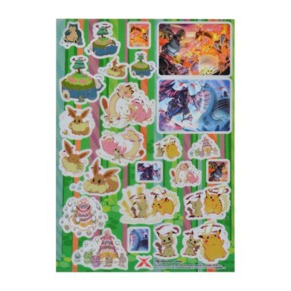 Photo1: Pokemon Center 2020 Gigantamax Gathered Sticker Sheet (1)
