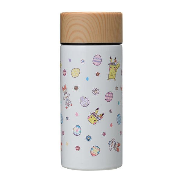 Photo1: Pokemon Center 2020 Pokemon Easter Thermo Stainless Mug bottle Cup (1)