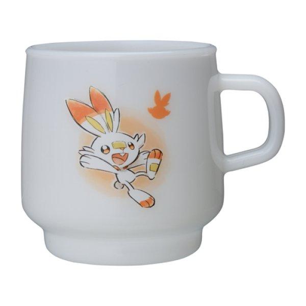 Photo1: Pokemon Center 2020 Pokemon Galar Tabi Stacking Plastic cup Scorbunny (1)