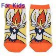 Photo1: Pokemon Center 2020 Pokeon Galar Tabi Socks for Kids 19 - 21 cm 1 Pair Cinderace (1)