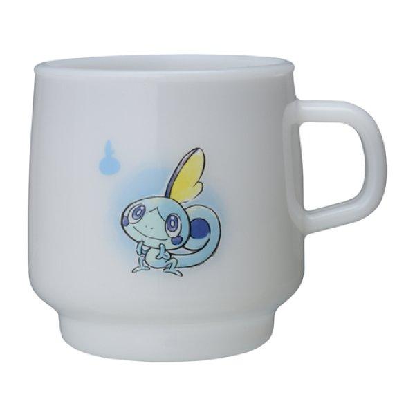 Photo1: Pokemon Center 2020 Pokemon Galar Tabi Stacking Plastic cup Sobble (1)