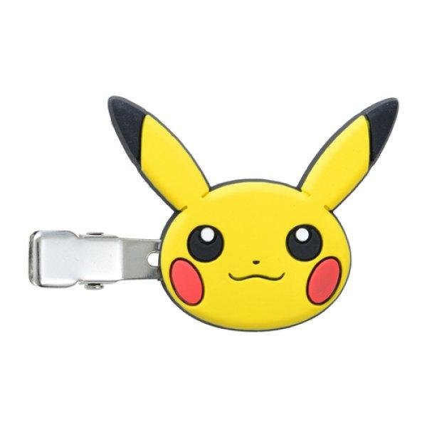 Photo1: Pokemon Center 2020 Psyduck No-Tenki Hair Clip Pikachu ver. (1)