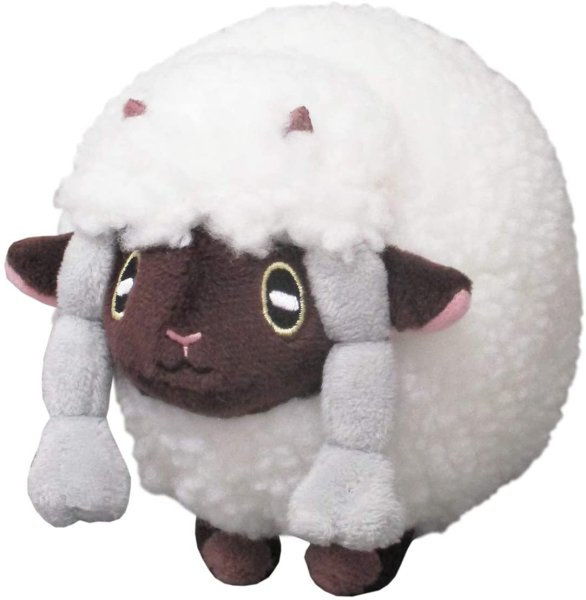 Photo1: Pokemon 2020 ALL STAR COLLECTION Wooloo Plush Toy SAN-EI (1)