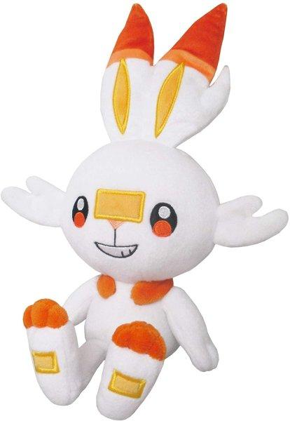 Photo1: Pokemon 2020 ALL STAR COLLECTION Scorbunny Plush Toy SAN-EI (1)