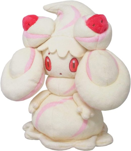 Photo1: Pokemon 2020 ALL STAR COLLECTION Alcremie Plush Toy SAN-EI (1)