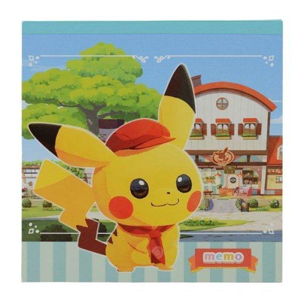 Photo1: Pokemon Center 2020 Pokemon Cafe Mix Memo pad (1)