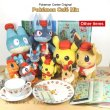 Photo5: Pokemon Center 2020 Pokemon Cafe Mix Acrylic Charm Key chain #3 Lucario (5)