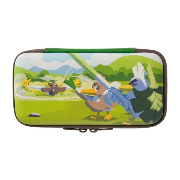Photo1: Pokemon Center 2020 Farfetch'd Campaign Nintendo Switch Lite Slim hard pouch (1)
