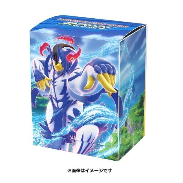 Photo1: Pokemon Center Original Card Game Flip deck case Gigantamax Urshifu Rapid Strike Style (1)