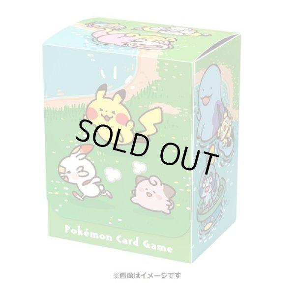 Photo1: Pokemon Center Original Card Game Flip deck case Pokemon Yurutto Galarian Friends (1)