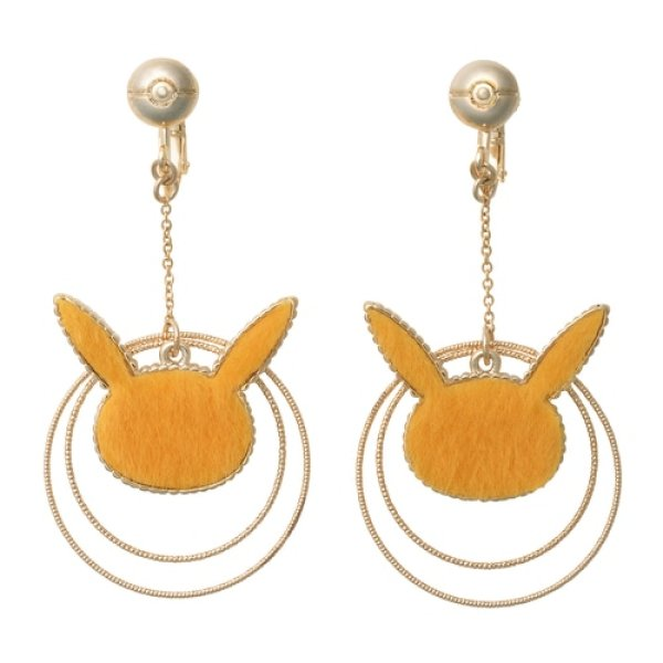 Photo1: Pokemon Center 2020 Pokemon accessory Series Clips Earrings E51 (1)