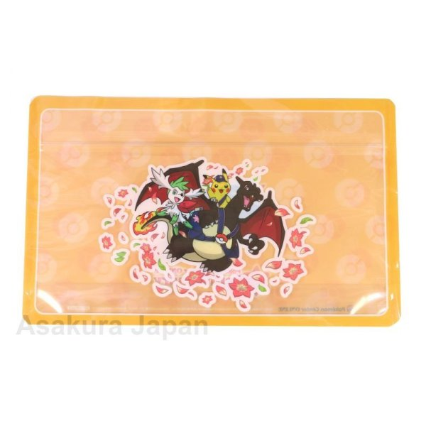 Photo1: Pokemon Center Online 5th Anniversary zipper bag (1)