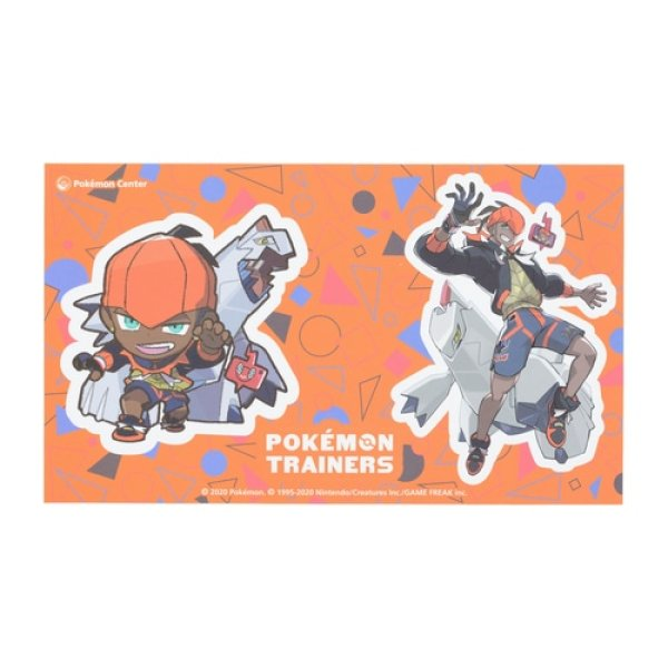 Photo1: Pokemon Center 2020 Pokemon Trainers Sticker Sheet Raihan Duraludon (1)