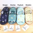 Photo4: Pokemon Center 2021 Pokemon Shirts Slippers Room Shoes Psyduck L size (4)