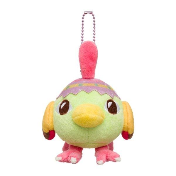 Photo1: Pokemon Center 2021 Happy Easter Basket Natu Plush Mascot Key chain (1)
