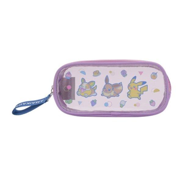 Photo1: Pokemon Center 2021 AMAIKAORI Pen pouch case (1)