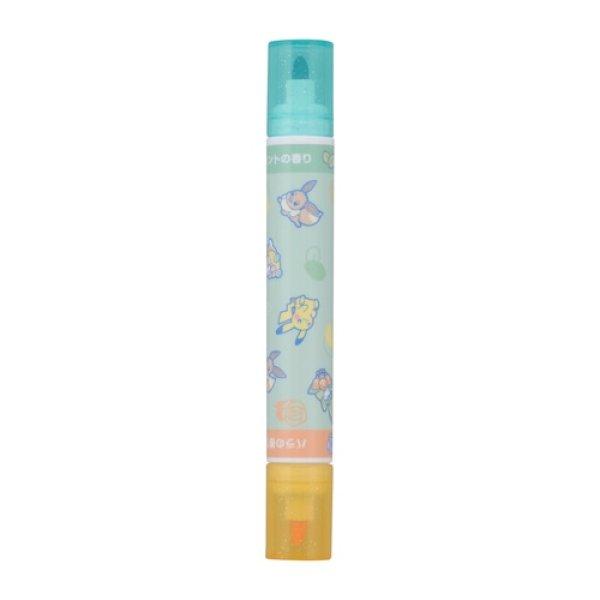 Photo1: Pokemon Center 2021 AMAIKAORI Scented pen Lilligant Orange & Green (1)