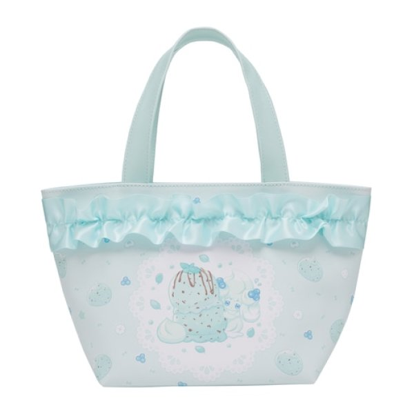 Photo1: Pokemon Center 2021 Mawhip a la mode Alcremie Insulated bag with Pouch Hot Cooler (1)